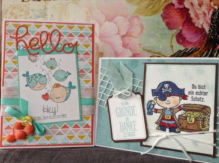 """my stampart - SAB 2015, Karte, Card, """"Ein echter Schatz"""", """"Hey, Valentine"""""""