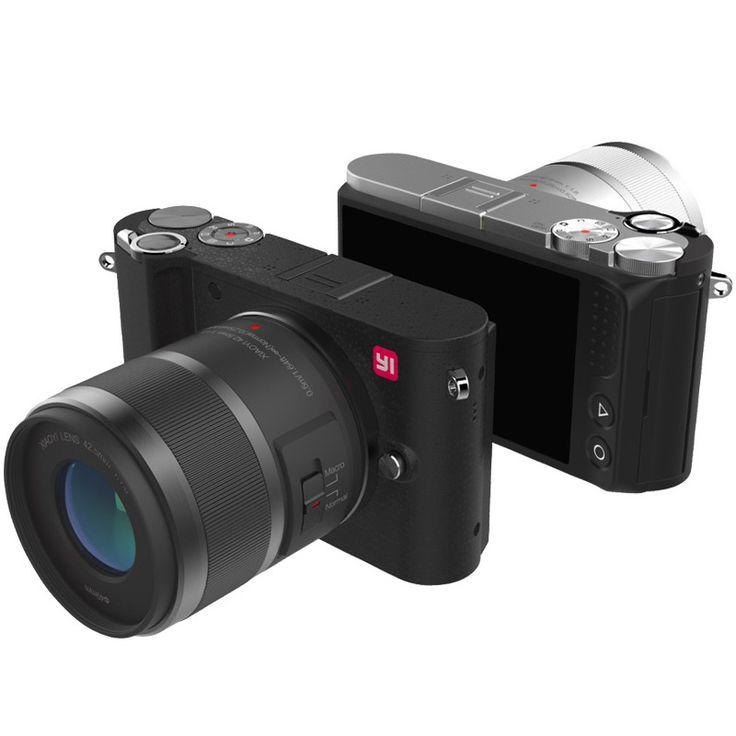 """YI M1 Cámara Digital Sin Espejo 4 k/30fps 3.0 """"20MP LCD Grabador de Vídeo H.264 WIFI BT 81 Puntos AF 720RGB Edición Internacional"""