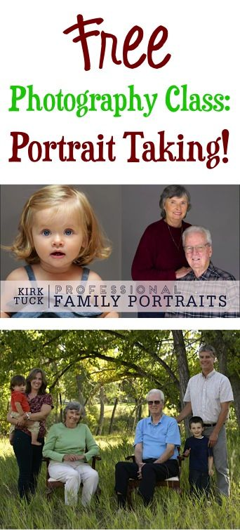 FREE Photography Online Class: Portrait Taking Tips!