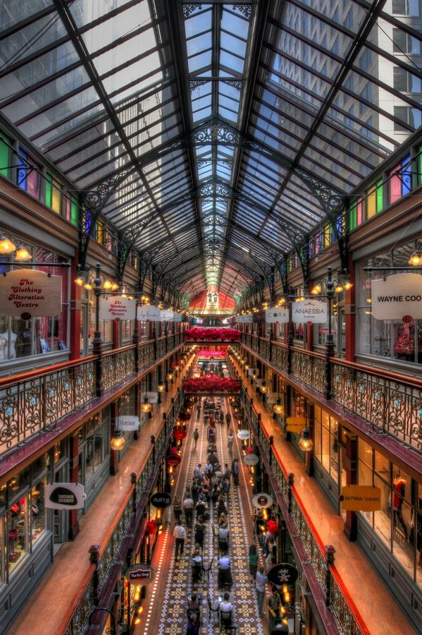 The Strand Arcade #lunchtime #shopping #sydney