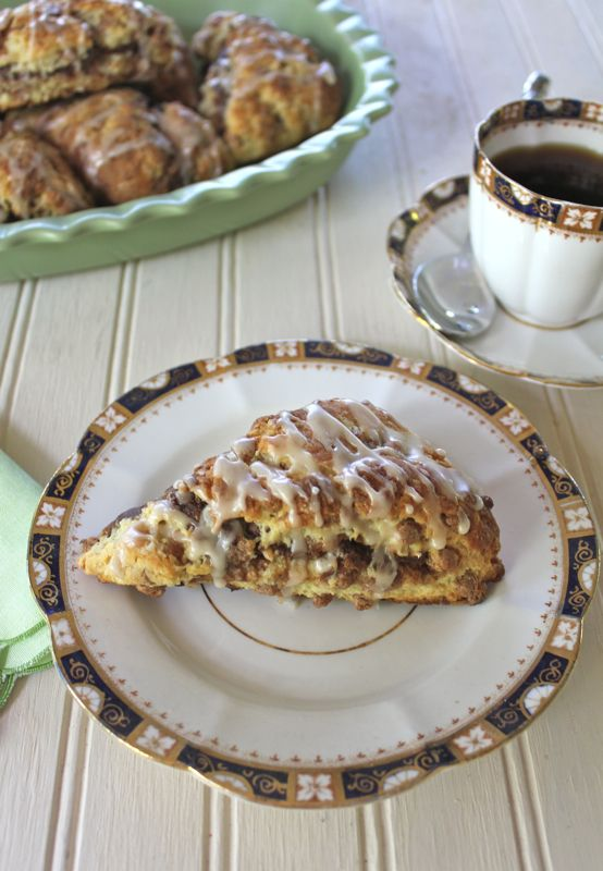 Triple Cinnamon Scones.  The best scone you will ever eat.