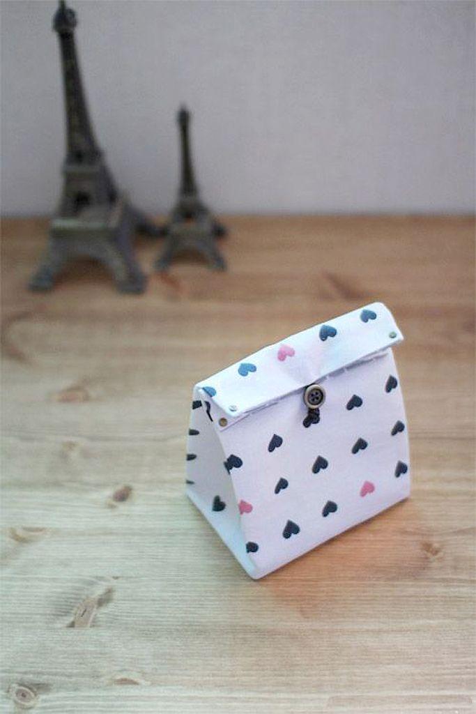 Emballage cadeau en tissu à faire soi-même