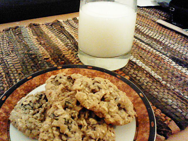 Cherry Chipotle Oatmeal Cookies - Everyday Foodie Blog
