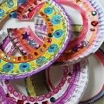 Make Ancient Egyptian Collars with Paper Plates!