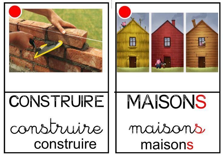"""Imagier des """"Trois petits cochons"""""""