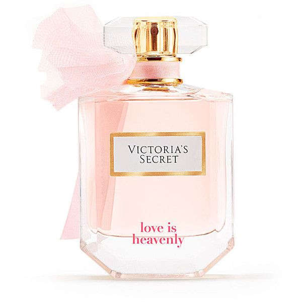 Victoria's Secret Love Is Heavenly Perfume (550 NOK) ❤ liked on Polyvore featuring beauty products, fragrance, blossom perfume, victoria secret perfume, flower fragrance, victoria secret fragrances and parfum fragrance