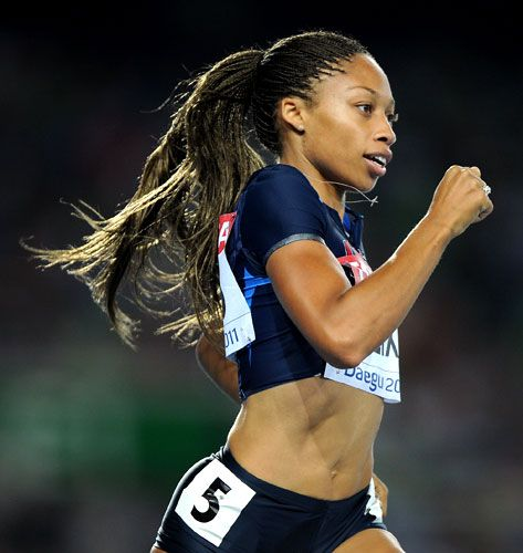 Allyson Felix......Track Team USA--our track and field girls have the BEST bodies!