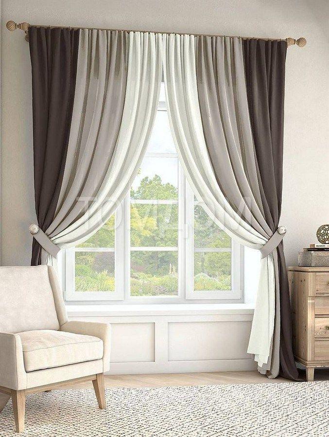 10+ easy farmhouse window treatments ideas 21 in 2020 ... on Farmhouse Curtain Ideas For Living Room  id=26595