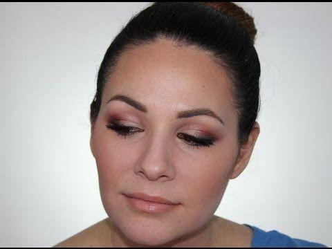 Drugstore brands evening makeup look