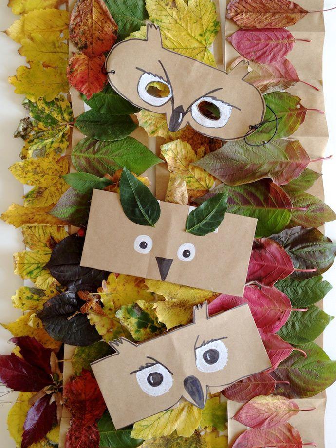 Bricolaje Forestales Amigos máscaras y coronas para Niños                                                                                                                                                                                 Más