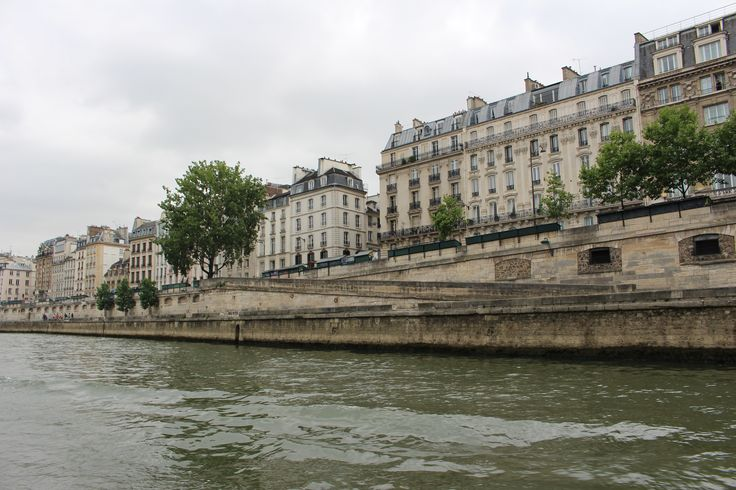 Buildings by the Seine River