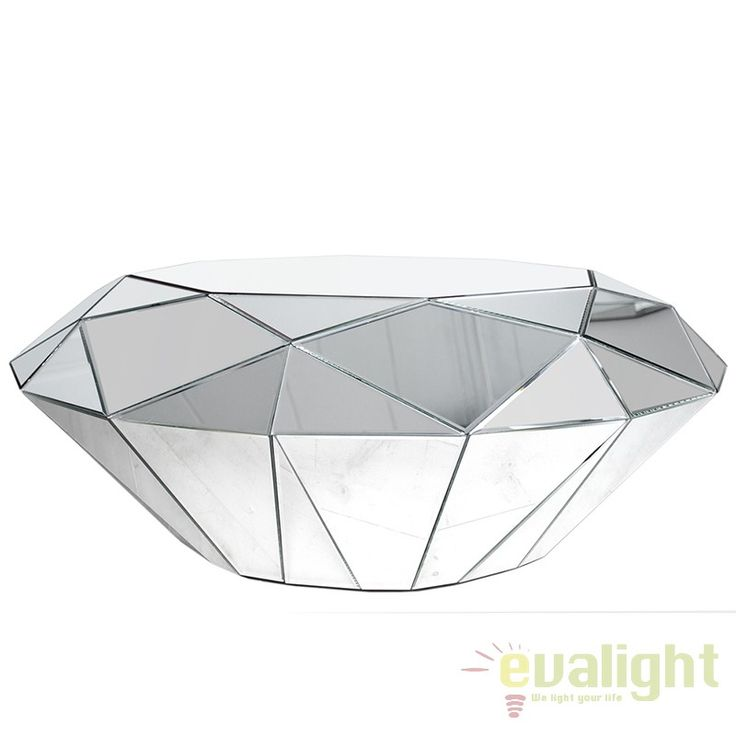 Masuta Living LUX eleganta si stralucitoare Diamond A-30143 VC - Corpuri de iluminat, lustre, aplice