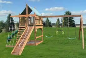 Swing-Set-Plans. Some cool ideas