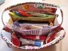 Woohoo!! It's a Mini Sew Together Bag! A Mini Sew Together Bag has two…