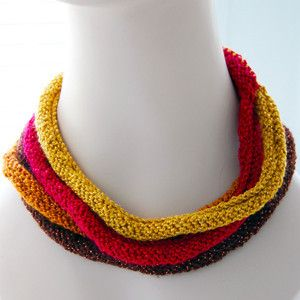 Layered Knit Necklace