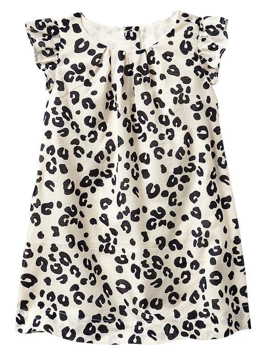 Cute #leopard flutter dress for little girls http://rstyle.me/~1G0kq
