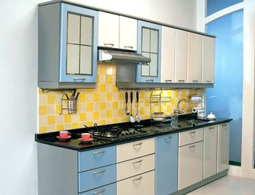 Single Wall Modular Kitchen Concept And Style Part 63