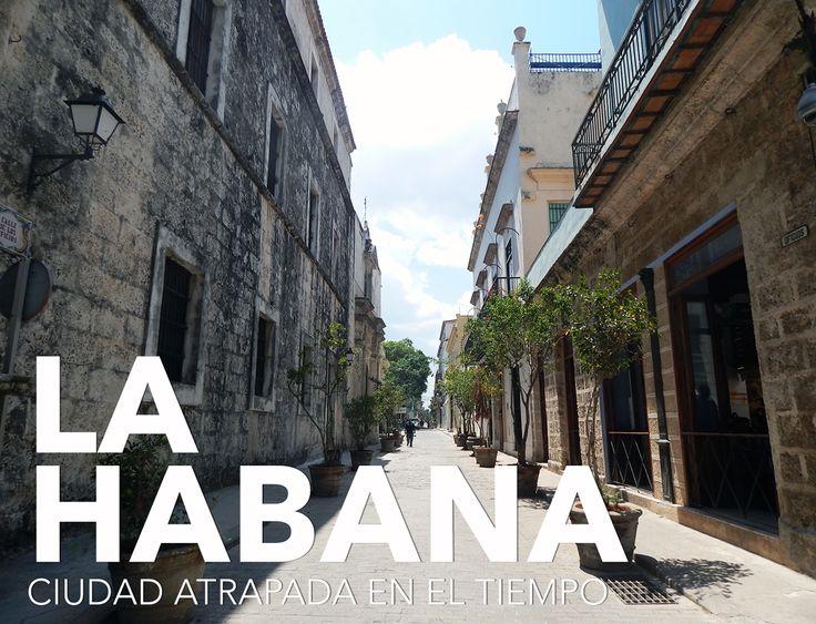 Calles en La Habana