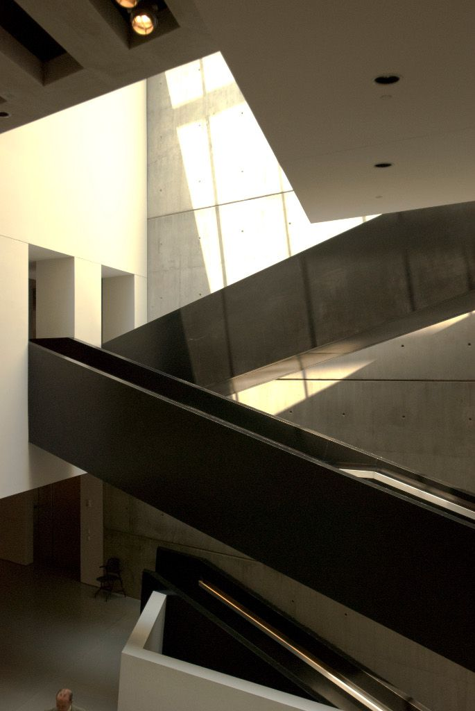 17 Best Images About Zaha Hadid Contemporary Arts Center Cincinnati 1999 2003 On Pinterest