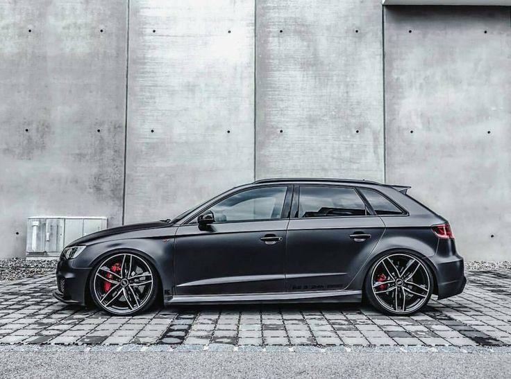 Awesome Audi 2017: Matte blue metallic vinyl wrap Audi S3 by Carbon Demon Sydney …Intel: Audi RS ...  char