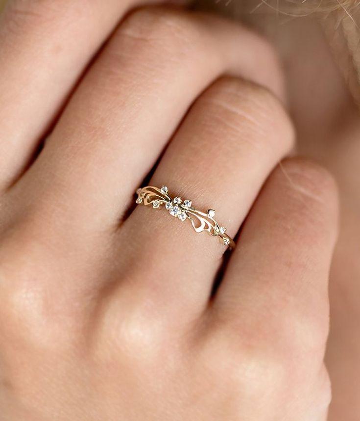 Unique Yet Timeless Fine Jewelry #fineringsjewelry