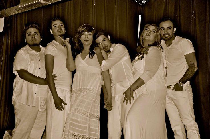 Jotos del Barrio :: Summer 2014 :: Jaime Gonzalez, Manuel Barraza, Toni Sauceda, Kenneth Lopez, Lynn Copeland, and Maximo Anguiano :: Photo by JP Ledesma :: www.esperanzacenter.org