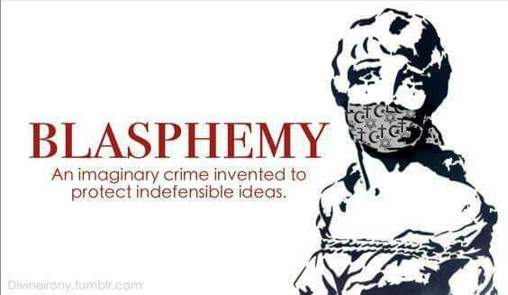 Concept of blasphemy in islam