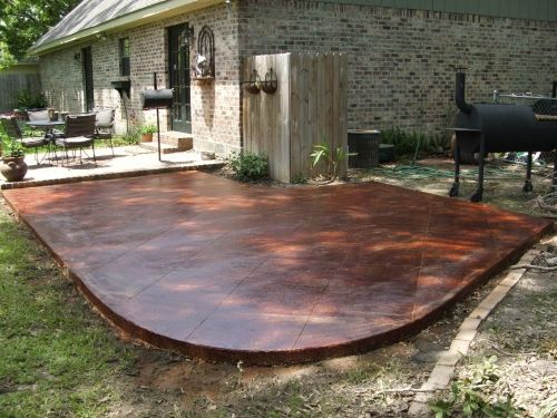 17 Best Images About Stained Concrete On Pinterest