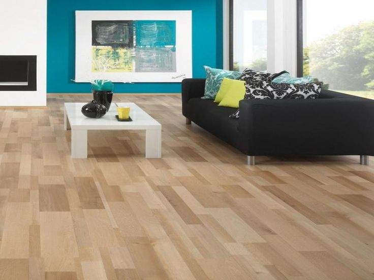 best laminate wood flooring for living room with black sofa http