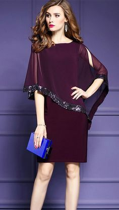 Women's Plus Size Going out Street chic Dress