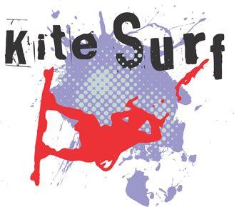 kitesurf t-shirt designs for printing t-shirts & fashion products. Download vector t-shirt designs.