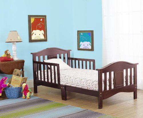 SAVE $115.74 - #Orbelle Contemporary Toddler Bed in Cherry $93.26