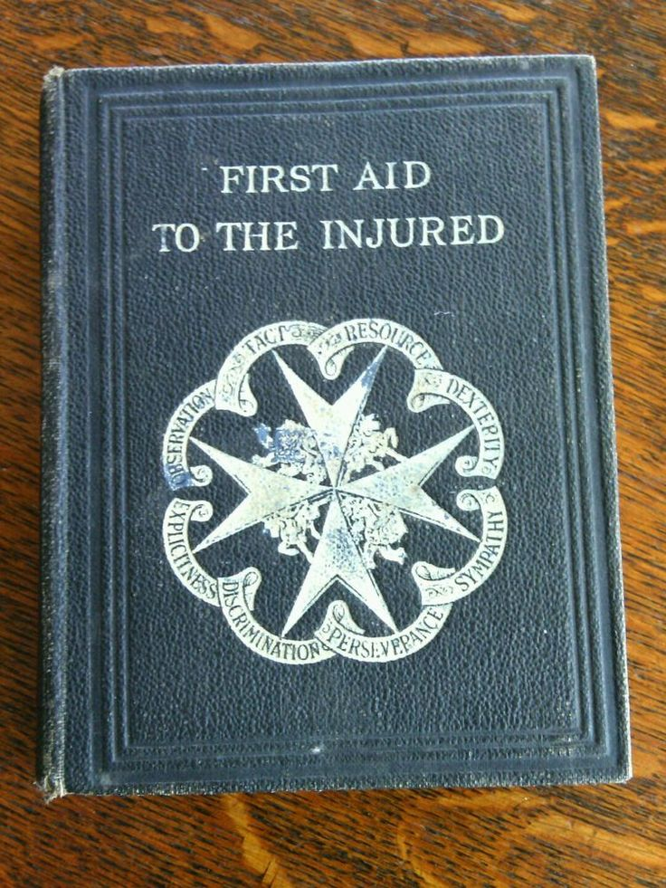 Vintage Collectible 1928 First Aid To The Injured 38th Edition Hardcover Book     eBay