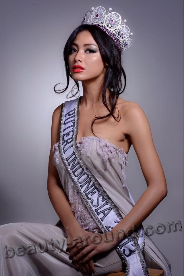 Whulandary Herman winner Miss Universe Indonesia 2013