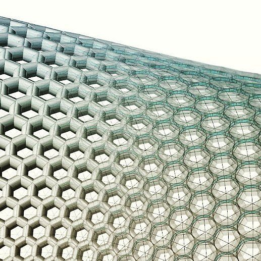 #Digital #stereotomy #parametric #steel #reinforced #stone #honeycomb #vault #grasshopper3d #design #architecture #rhino #vault #stone #algorhythm #next_top_architects #3dmodelling #3dprinting #3dmodeling #voronoi #3d #smooth #smoothing #pattern #geometry #shapes #geometric #digitalart #wireframe by barberio.colella.arc