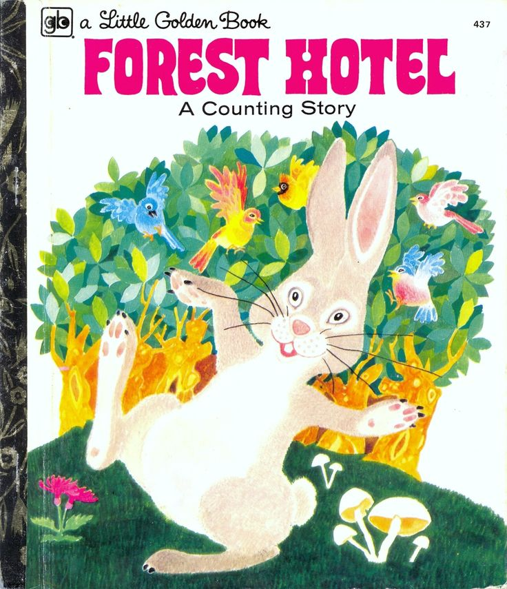 Little Golden Book 437 Forest Hotel