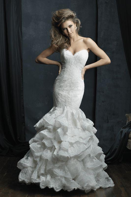 C384 Allure Couture Bridal Gown C280 Allure Couture Bridal Gown   Brides of Melbourne Couture Emporium