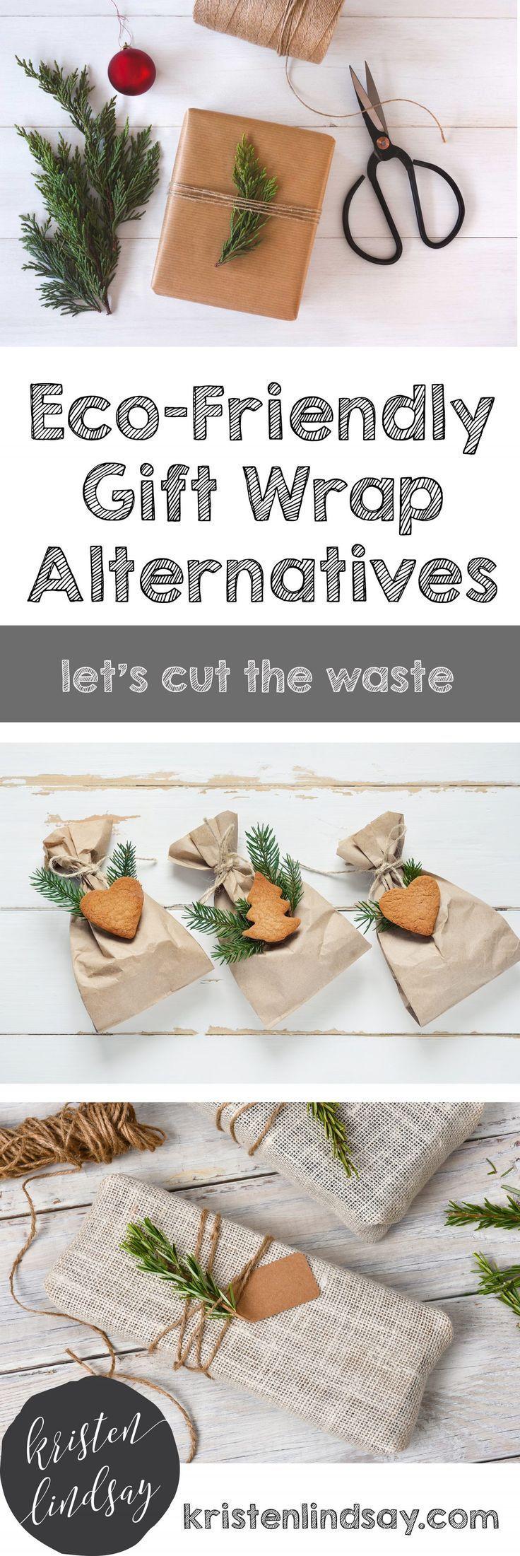 6 Eco-Friendly Gift Wrap Alternatives