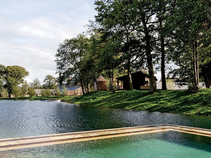 The Soho House group's new Soho Farmhouse retreat, with a pool set inside the nearby lake (pictured) promises to be a further game-changer. (Japanese food in the countryside? There's no way back from that.)