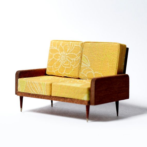 mid century dollhouse furniture. ooak dollhouse miniature mid century modern by tadasrevolution 2900 furniture
