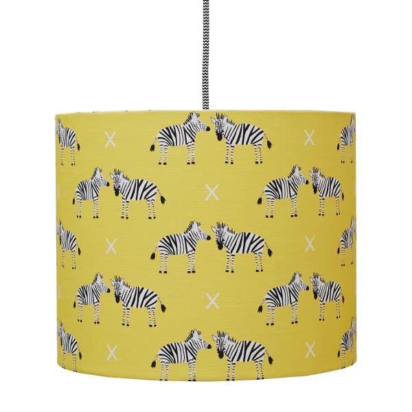 Zebras Lampshade Medium | Rosa & Clara Designs | Wolf & Badger