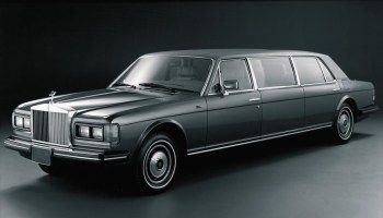 1980→1989 Rolls-Royce Silver Spur Limousine