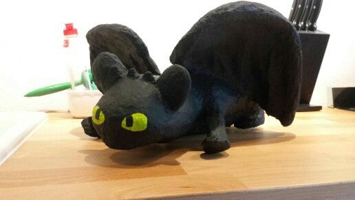 Toothless papermache