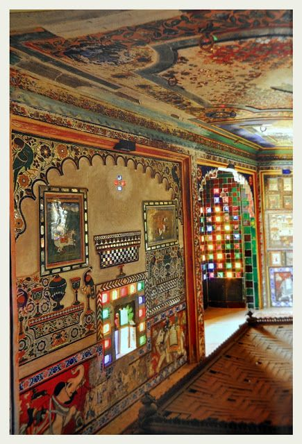 An Indian Summer. Indian haveli interiors. | Traditional