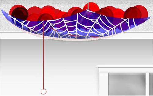 Spider-Man Party Balloon Drop