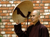 www.speakingtree.in/ Thich Nhat Hanh is a Buddhist monk, teacher, author, poet and peace activist now based in France.He joined a Zen (Vietnamese: Thien) monastery at the age of 16, studied Buddhism as a novice, and was fully ordained as a monk in 1949. The title Thích is used by all Vietnamese monks and nuns, meaning that they are part of the Shakya (Shakyamuni Buddha) clan. In the early 1960s, he founded the School of Youth for Social Services (SYSS) in Saigon.