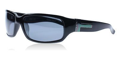 BLOC DAKAR Polarised Sunglasses Black & Grey Lens P255N with POUCH