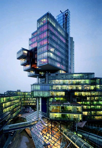 Norddeutche Landesbank -- could be how the dorms look in my dystopia