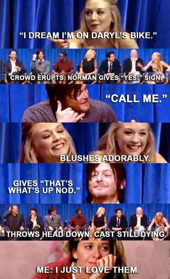 Bethyl - Normily (Beth and Daryl) Norman Reedus and Emily Kinney | twd couple | The Walking Dead