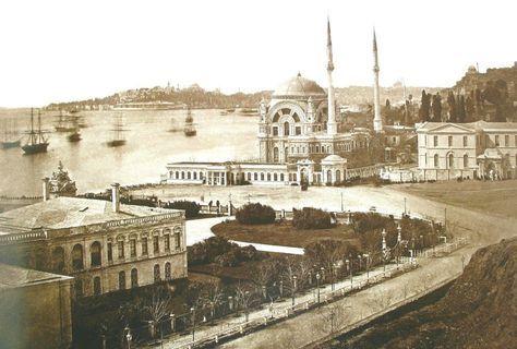 Dolmabahçe, 1862